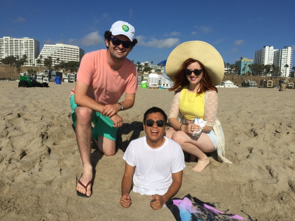 """With the cast of my upcoming short film, """"Paddleball Hole."""""""
