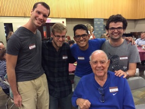 I added an extra semester after I graduated from college to do a Hollywood internship program in Los Angeles with several other Taylor University students. In addition to our internships, we had the opportunity to connect with many incredible people. One such person was Ken Wales, who worked with Blake Edwards to produce The Pink Panther movies.